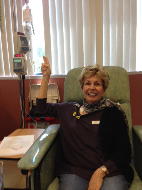Starting Chemo: first day of chemo, May 20, 2014.