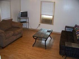 Cabin 7  living room