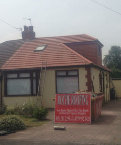 Bungalow roof complete Liverpool