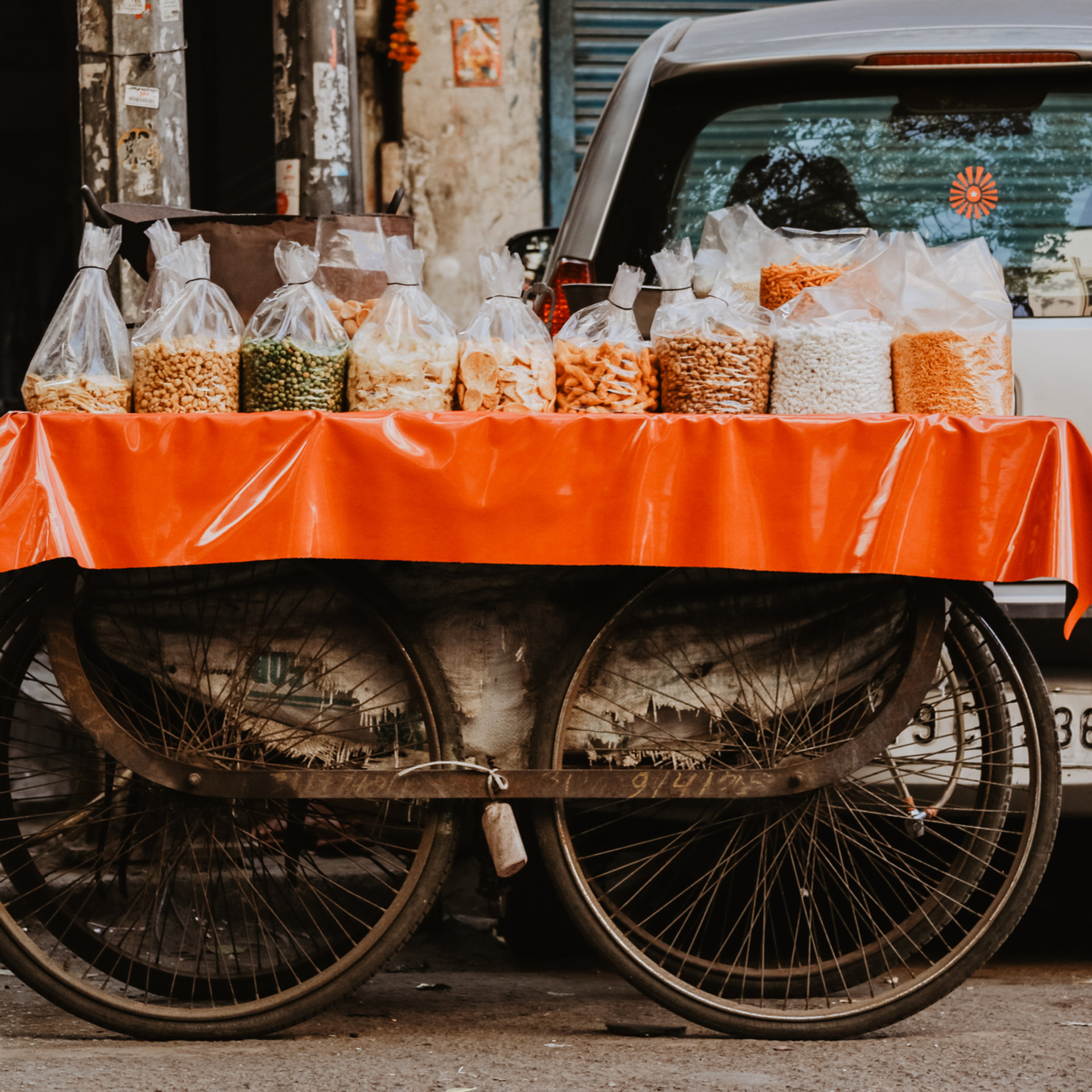 vendors vehicle
