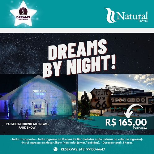 Ingresso Dreams By Night
