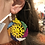 Thumbnail: Aztec Pattern Seedbead Earrings