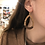 Thumbnail: Teardrop Cork Wood Earrings