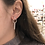 Thumbnail: Dangle Geo Sterling Earrings