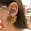 Thumbnail: Sunflower Beaded Earrings