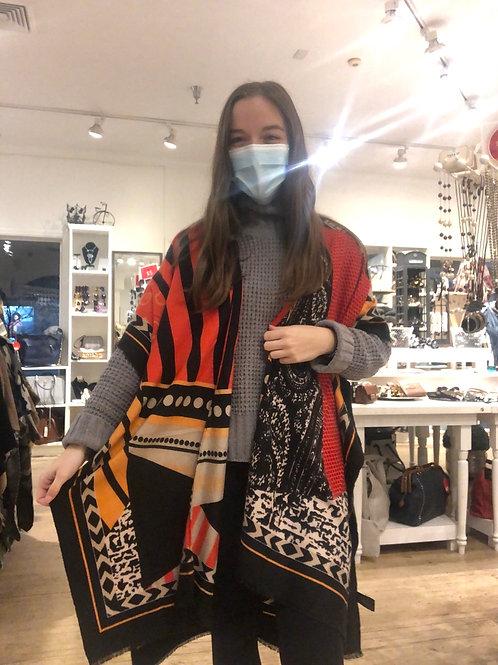 Tribal Patchwork Kimono
