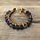Thumbnail: Blue Stone and Bead Bracelet