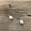 Thumbnail: Pear Loop Sterling Earring