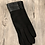 Thumbnail: Black Touch Gloves with Leather Detail
