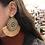 Thumbnail: Wood Cut Tassel Earrings