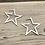 Thumbnail: Star Hoop Earrings