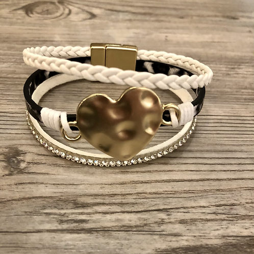 Heart Multi Magnetic Bracelet