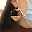 Thumbnail: Half Moon Celloid Earring