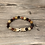 Thumbnail: Chevron Stone Stretch Bracelet