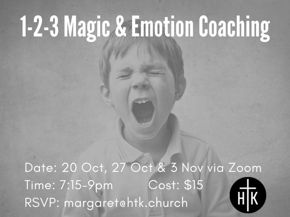 1-2-3 Magic & Emotion Coaching