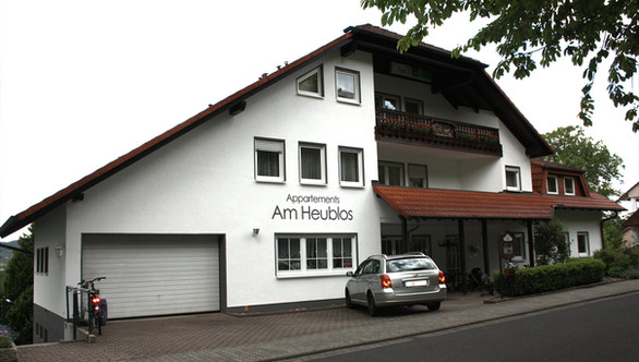 Am Heublos Fassadenarbeiten