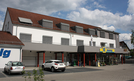 EDEKA Habig Bad Soden-Salm. Fassadenarbeiten