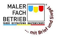 Logo Maerfachbetrieb Farbe Gestaltung Bautenschutz