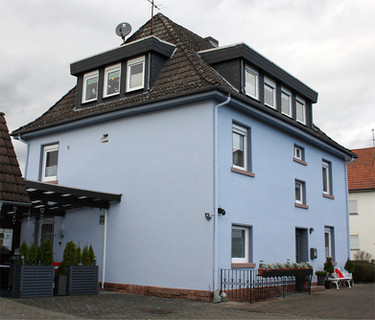 Wohnhaus Fassadenarbeiten