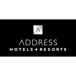 The Address Hotel Signage
