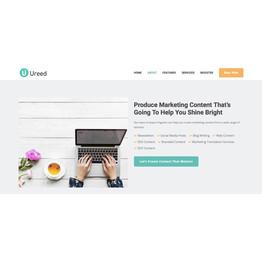 Ureed Marketing Page