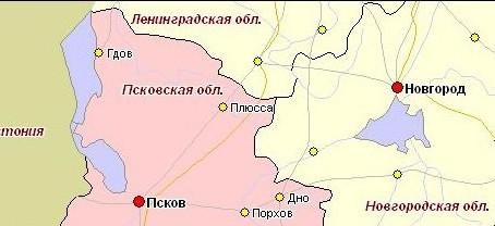 Граница между Ленинградской и Псковской областями внесена в реестр недвижимости