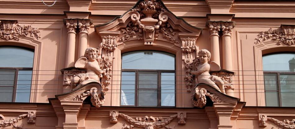 Современная цифровая система учёта исторических фасадов в   Санкт-Петербурге