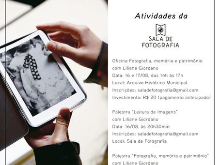 Atividades da Sala de Fotografia na 10ª Semana da Fotografia de Caxias do Sul