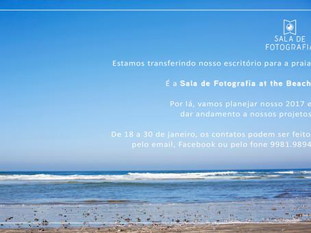 Sala de Fotografia at the beach!