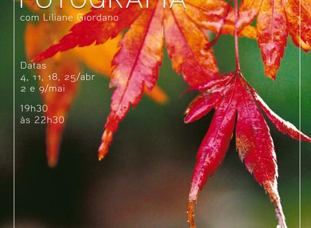 Novo curso de fotografia em abril!