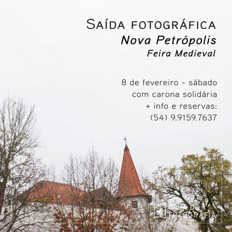Saída fotográfica de fevereiro: Feira Medieval