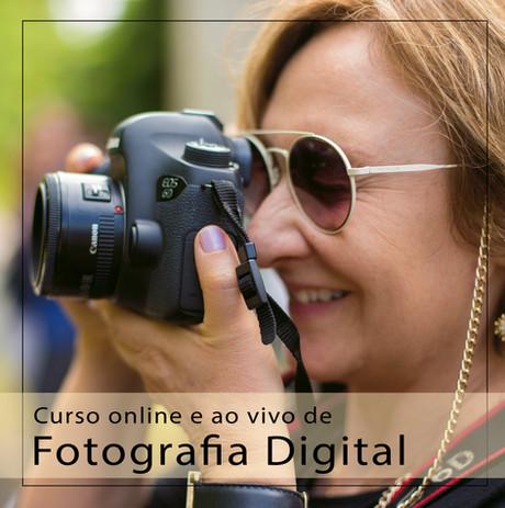 Nova turma do Curso de fotografia digital - online e ao vivo!