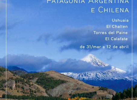 Expedição fotográfica: Patagônia argentina e chilena