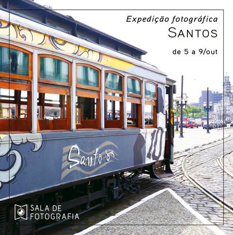 Expedição fotográfica para festival de fotografia em Santos