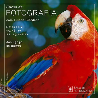 Nova turma do curso de fotografia inicia em fevereiro