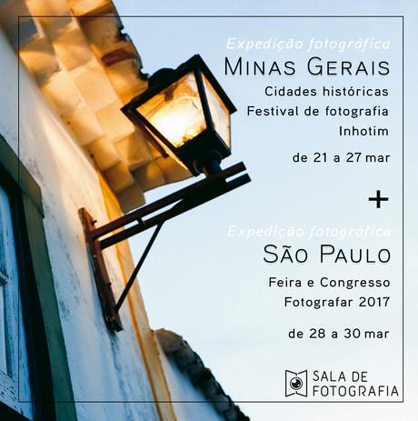 Expedição Fotográfica: Minas Gerais e São Paulo