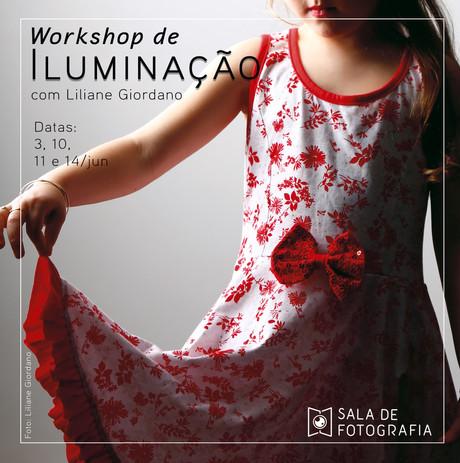 Junho chega com uma nova turma do workshop de iluminação