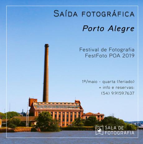 Saída fotográfica ao festival de fotografia de Porto Alegre