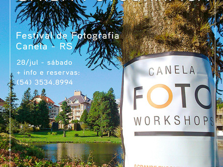 Saída fotográfica: Canela Foto Workshops
