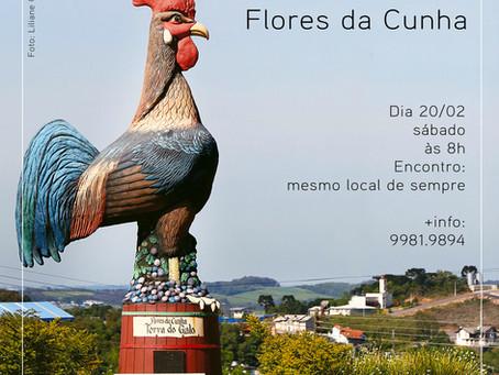 Saída fotográfica de fevereiro é em Flores da Cunha