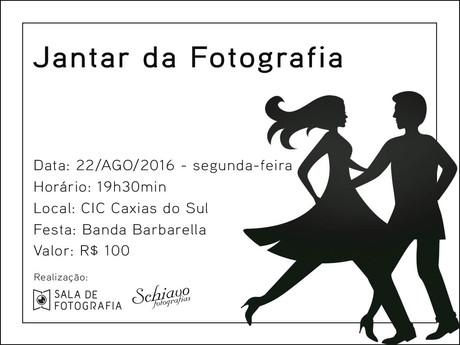 Jantar da fotografia reúne profissionais de eventos em Caxias do Sul