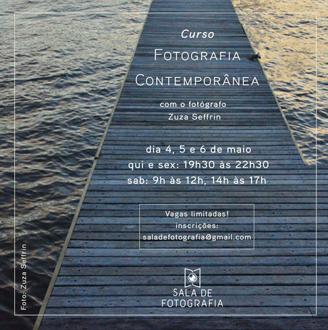 Workshop de Fotografia Contemporânea!