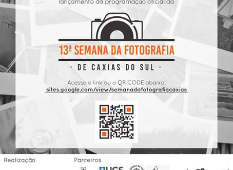 Programação da 13ª Semana da Fotografia de Caxias do Sul