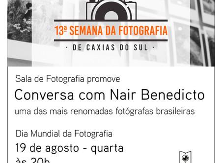 Dia mundial da fotografia: celebramos com Nair Benedicto!