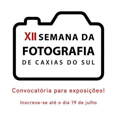 Convocatória de Exposições da XII Semana da Fotografia de Caxias do Sul