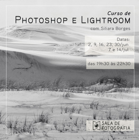 Nova turma do curso de Photoshop e Lightroom
