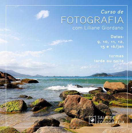 Nova turma do curso de fotografia em janeiro!