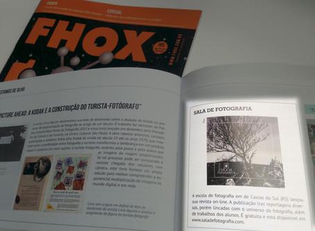 Revista Sala de Fotografia na Fhox!