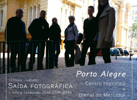 Saída fotográfica de maio: Porto Alegre - palestras internacionais de fotografia + Bienal do Mercosu