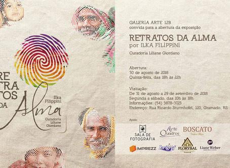 Exposição Retratos da Alma tem abertura em Gramado